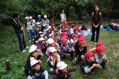 鳴滝小学校2年生40名遠足サポート in うみべの森_c0108460_17484224.jpg