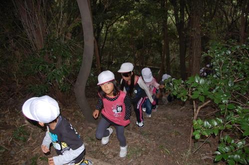 鳴滝小学校2年生40名遠足サポート in うみべの森_c0108460_17512194.jpg