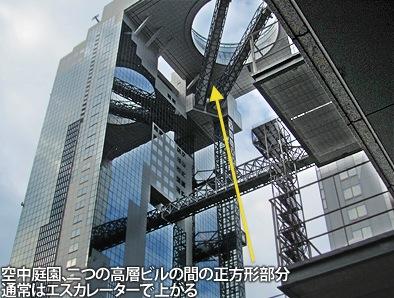 梅田スカイビルの空中庭園とガーデンシネマ、車いすでも大丈夫ですが・・・_c0167961_3391819.jpg