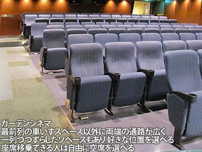 梅田スカイビルの空中庭園とガーデンシネマ、車いすでも大丈夫ですが・・・_c0167961_3415172.jpg