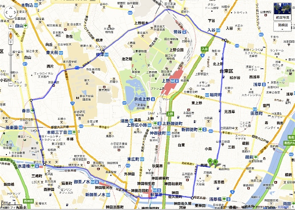 run to the ……_f0230666_22581918.jpg