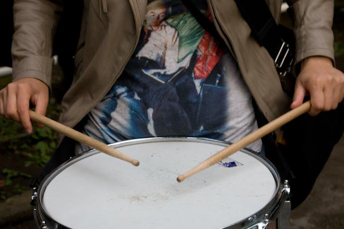 ▼怒りのドラムたちが街に残していったもの_d0017381_23351842.jpg