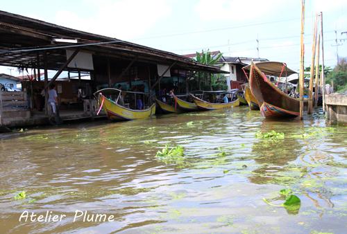 タイ旅行  11  水上マーケット_e0154202_04949100.jpg