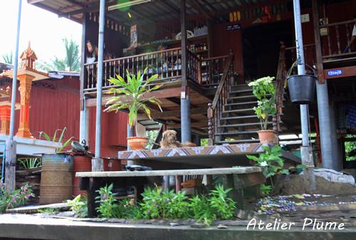 タイ旅行  11  水上マーケット_e0154202_0501214.jpg