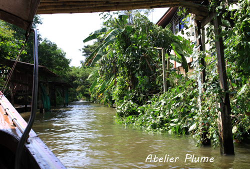 タイ旅行  11  水上マーケット_e0154202_0503454.jpg