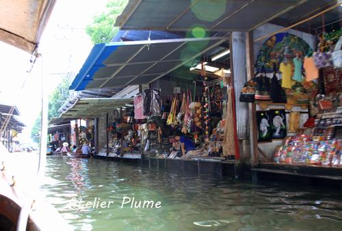 タイ旅行  11  水上マーケット_e0154202_0513296.jpg