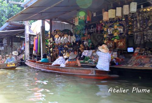 タイ旅行  11  水上マーケット_e0154202_0514481.jpg