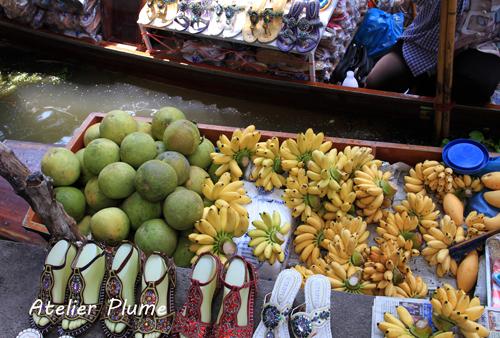 タイ旅行  11  水上マーケット_e0154202_0523019.jpg