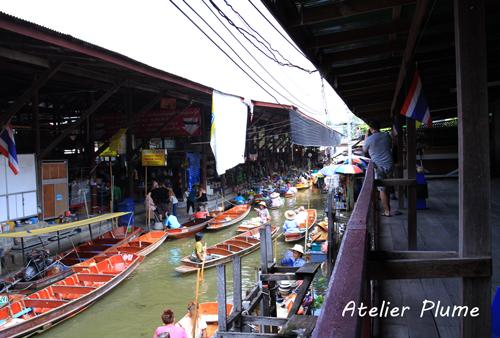 タイ旅行  11  水上マーケット_e0154202_0525366.jpg