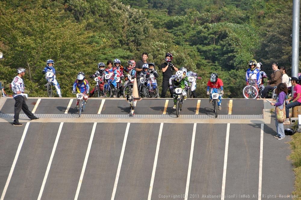 10月10日CSC BMX愛好会/チャッキーカップVOL3:チャッキーカップ第4戦予選その2_b0065730_6103866.jpg