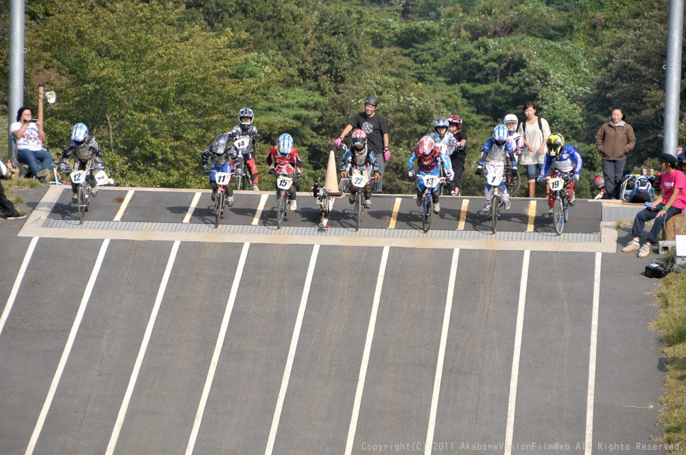 10月10日CSC BMX愛好会/チャッキーカップVOL3:チャッキーカップ第4戦予選その2_b0065730_6121285.jpg