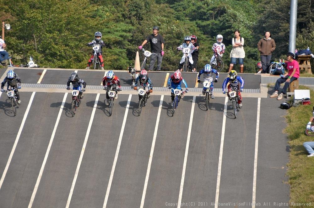 10月10日CSC BMX愛好会/チャッキーカップVOL3:チャッキーカップ第4戦予選その2_b0065730_6122380.jpg