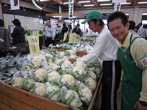 一足速い冬野菜「カリフラワー」_c0141652_18545651.jpg
