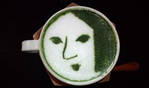 ちょっと休憩…おいしい抹茶カプチーノ~よーじやカフェ_d0082356_21204637.jpg