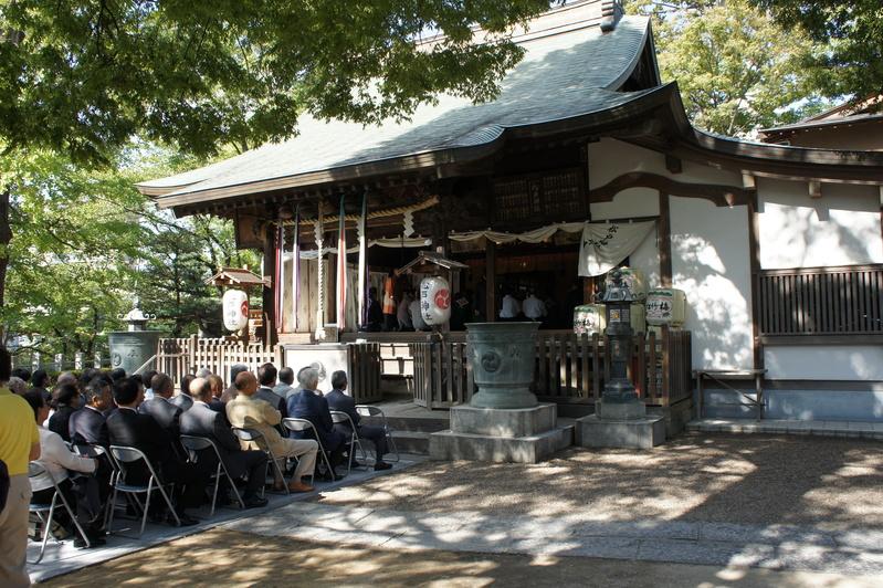 松戸神社竣工奉祝祭  2011.9.29_e0223771_2113328.jpg