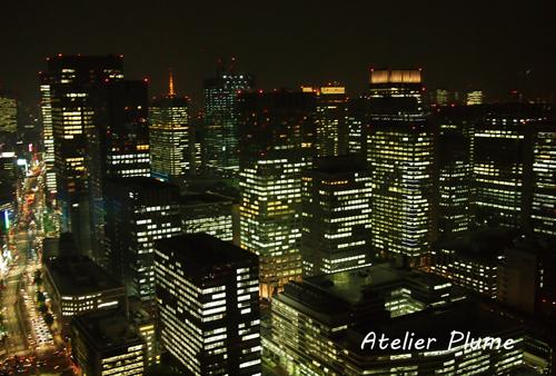 パーティーの後はマンダリンオリエンタル東京に宿泊 _e0154202_1135421.jpg