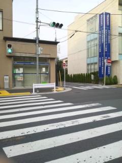 お店までの道順~近いルート(西口改札口より)_d0191211_1684547.jpg