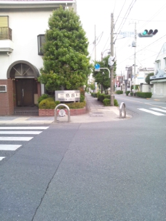 お店までの道順~近いルート(西口改札口より)_d0191211_1851248.jpg