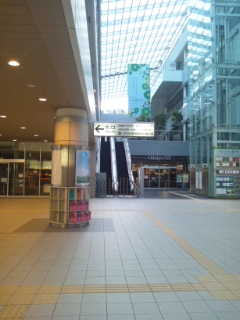 お店までの道順~遠回りルート(中央北口改札口より)_d0191211_18555917.jpg