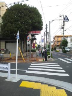 お店までの道順~近いルート(西口改札口より)_d0191211_195257.jpg