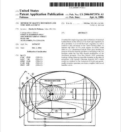 「タイムマシンの特許」なる!:ついにタイムマシン製作の秘密が公開された!?_e0171614_13371884.jpg