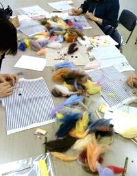 Let\'s try 羊毛刺しゅう。_d0055515_1473698.jpg
