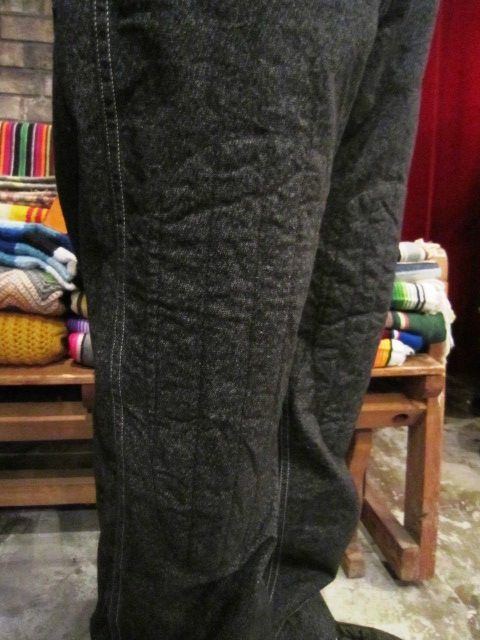 """ANACHRONORM \""""Quilted Wide Work Pants  Wide Fit\"""" ご紹介_f0191324_9265578.jpg"""