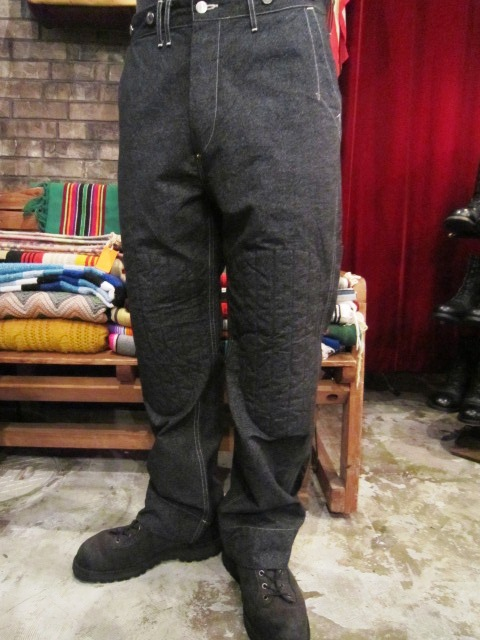 """ANACHRONORM \""""Quilted Wide Work Pants  Wide Fit\"""" ご紹介_f0191324_926588.jpg"""
