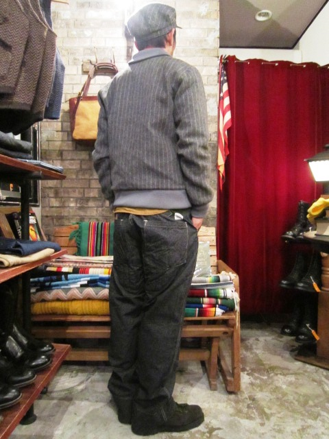 """ANACHRONORM \""""Quilted Wide Work Pants  Wide Fit\"""" ご紹介_f0191324_928593.jpg"""
