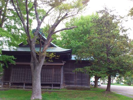 自然豊かな亀田八幡宮_b0106766_16365975.jpg