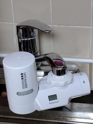 蛇口直結型浄水器 クリンスイMD201 など_b0006870_18571259.jpg