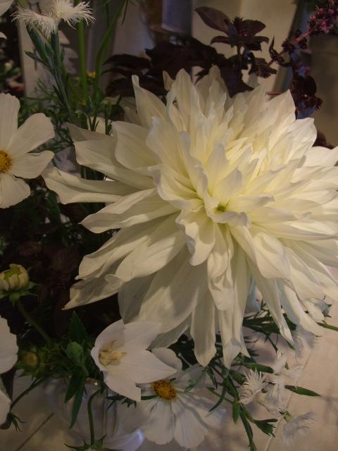 オークリーフ花の教室(石井さん親子の作品)_f0049672_17104434.jpg