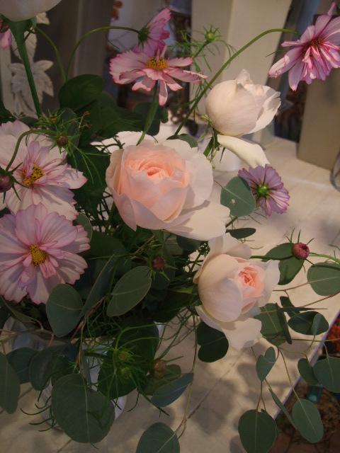オークリーフ花の教室(石井さん親子の作品)_f0049672_171283.jpg