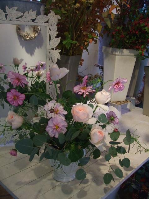 オークリーフ花の教室(石井さん親子の作品)_f0049672_1734294.jpg