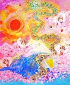 2012/1/4-9 エレマリア展 「幸運の龍たち&天使たち」_e0091712_11561371.jpg
