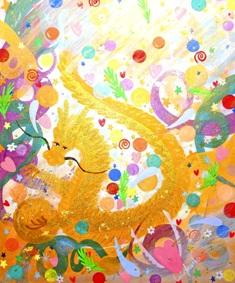 2012/1/4-9 エレマリア展 「幸運の龍たち&天使たち」_e0091712_1244059.jpg