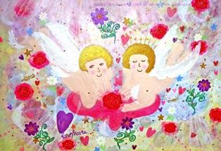 2012/1/4-9 エレマリア展 「幸運の龍たち&天使たち」_e0091712_1254583.jpg