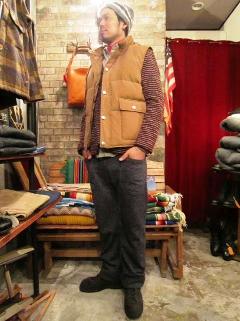 "Jackman \""Wool Mix Urake Pnats\"" ご紹介!_f0191324_9425584.jpg"