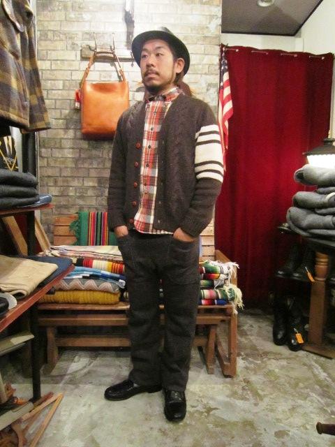 "Jackman \""Wool Mix Urake Pnats\"" ご紹介!_f0191324_9433461.jpg"