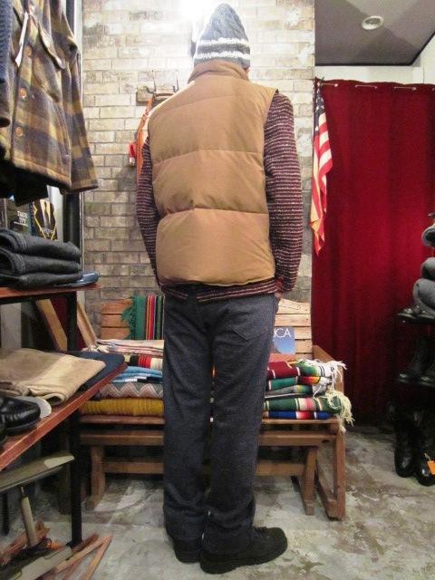 "Jackman \""Wool Mix Urake Pnats\"" ご紹介!_f0191324_943445.jpg"