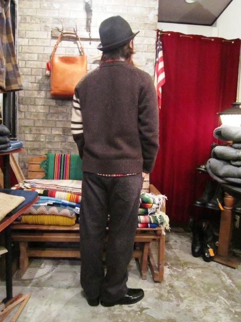 "Jackman \""Wool Mix Urake Pnats\"" ご紹介!_f0191324_9435263.jpg"