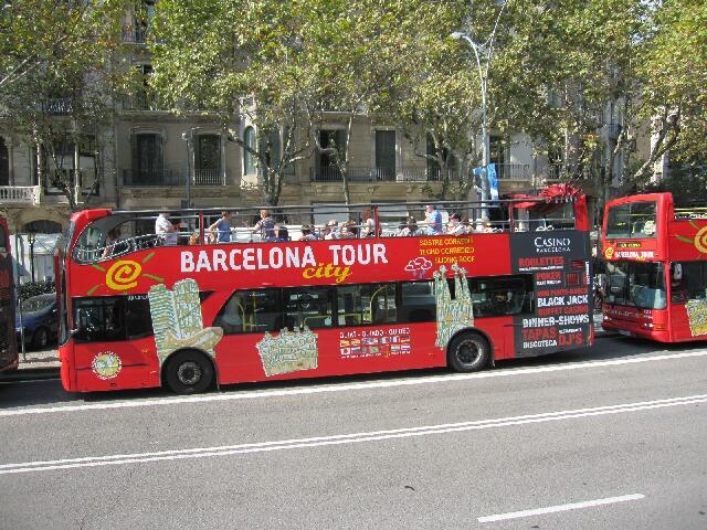 観光地へはツーリストバスに乗って♪①サグラダ・ファミリア_d0133225_1932346.jpg