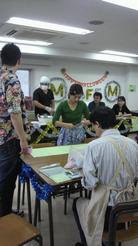 東京医療専門学校ケータリング、そして素敵な出会い_a0075684_1372616.jpg