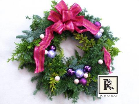 2011年Christmas wreath -クリスマス1day レッスン- のご案内_c0128489_17444635.jpg