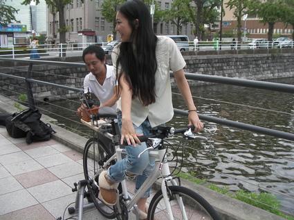 自転車で珈琲を挽く!?_f0063022_16503996.jpg