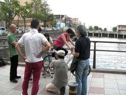 自転車で珈琲を挽く!?_f0063022_1782791.jpg