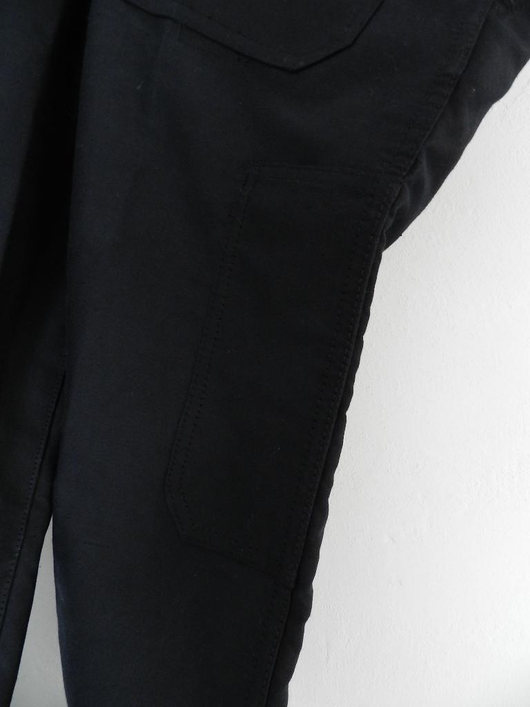 french mole skin pants black squat version_f0226051_12103248.jpg