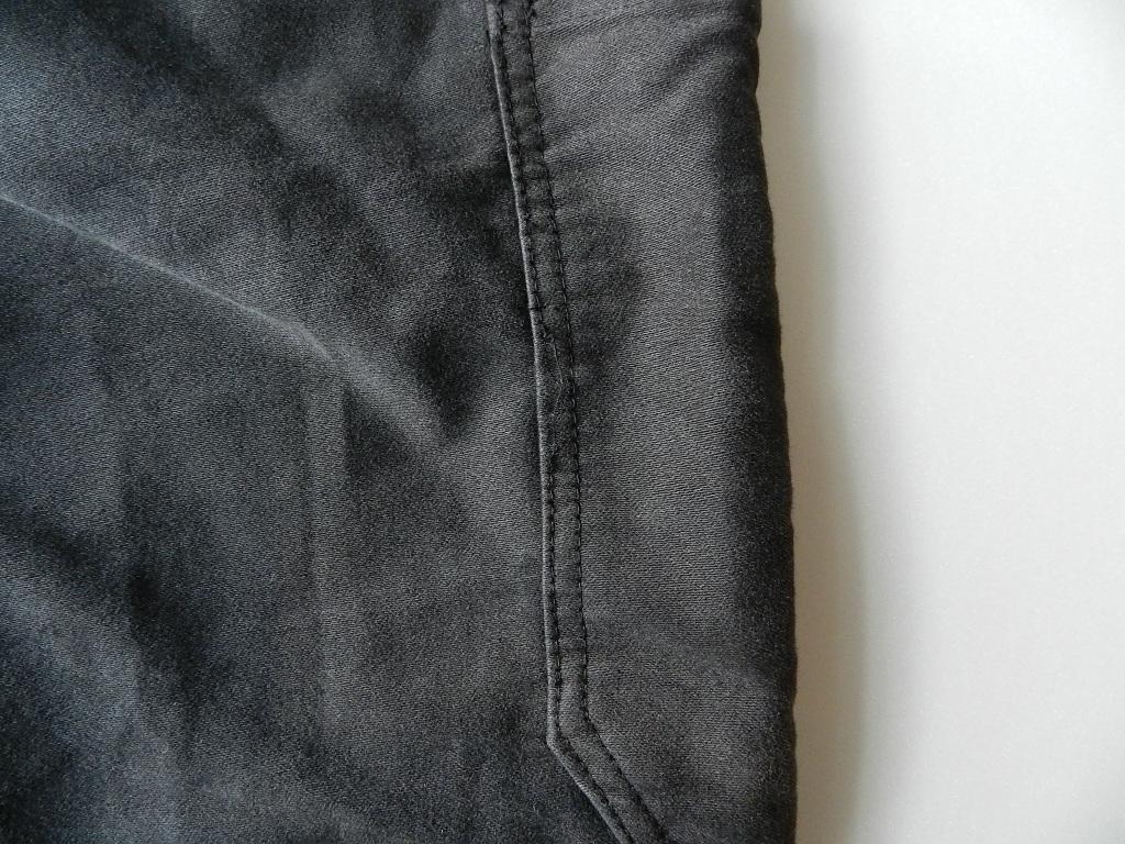 french mole skin pants black squat version_f0226051_12173111.jpg