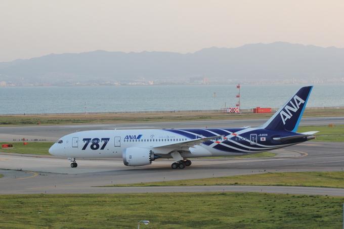 関空 ANA ボーイング787-8型 乗務員訓練_d0202264_6371745.jpg