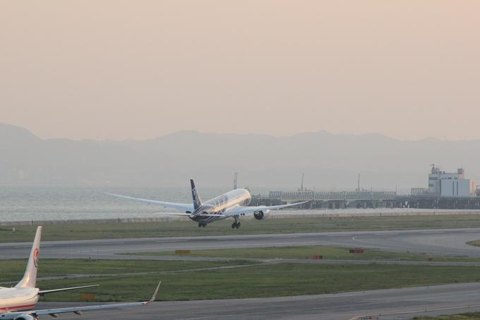 関空 ANA ボーイング787-8型 乗務員訓練_d0202264_6383963.jpg